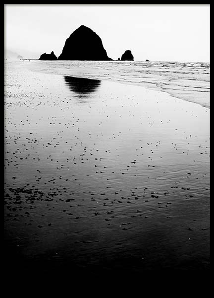 Haystack Rock Poster in the group Prints / Nature at Desenio AB (10092)
