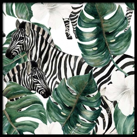 Zebra Pattern Poster in the group Prints / Art prints at Desenio AB (10122)