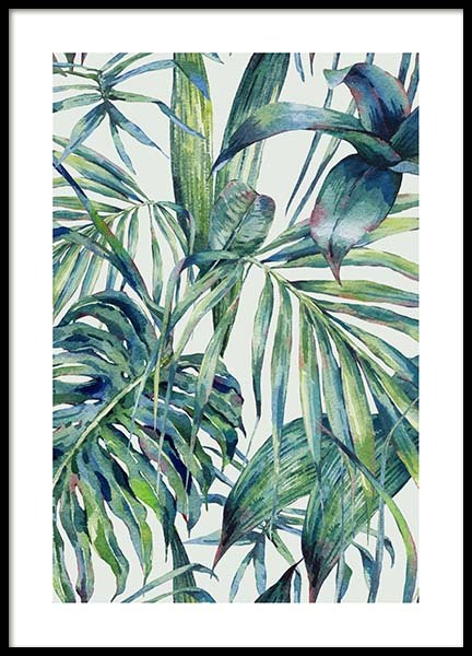 Watercolor Pattern Poster in the group Prints / Sizes / 50x70cm | 20x28 at Desenio AB (10127)