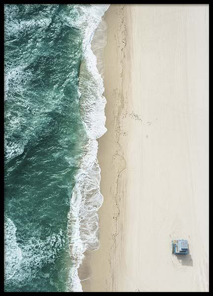 South Beach Aerial Poster in the group Prints / Nature at Desenio AB (10226)