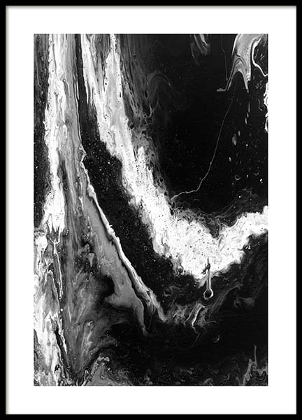 Abstract Black Poster in the group Prints / Art prints at Desenio AB (10271)