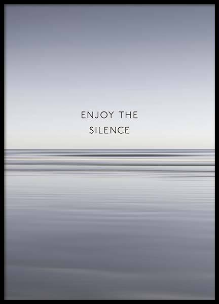 Enjoy The Silence Poster in the group Prints / Nature at Desenio AB (10300)
