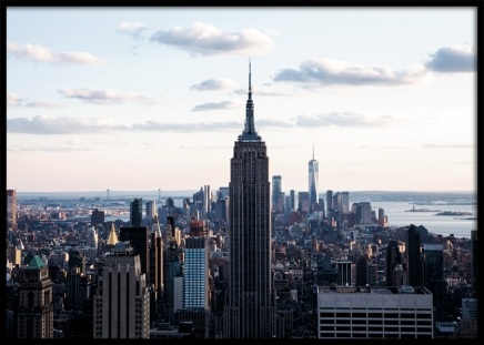 New York Skyline Poster in the group Prints / Photographs at Desenio AB (11329)