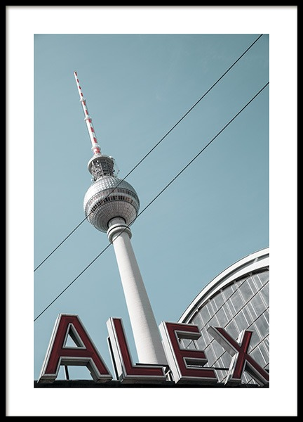 Alexanderplatz Poster in the group Prints / Photographs at Desenio AB (11410)