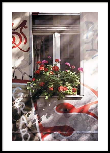 Geranium Poster in the group Prints / Photographs at Desenio AB (11413)