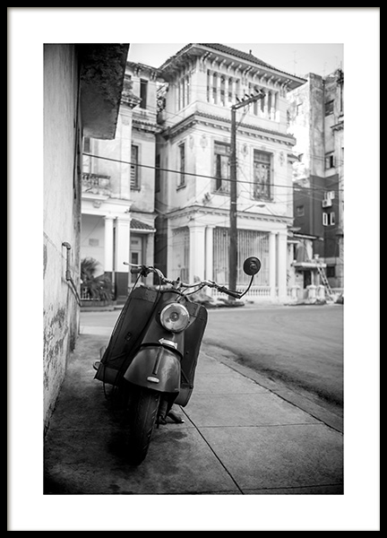 Street of Havana Poster in the group Prints / Photographs at Desenio AB (11528)