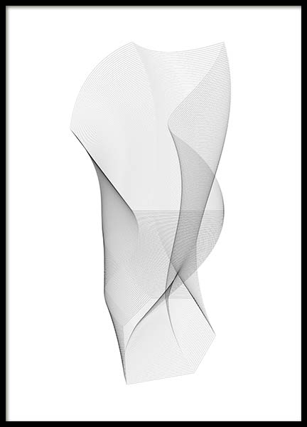 Sculpture Poster in the group Prints / Black & white at Desenio AB (11601)