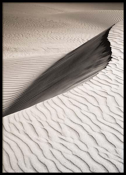 Sand Dune Landscape Poster in the group Prints / Nature at Desenio AB (11710)