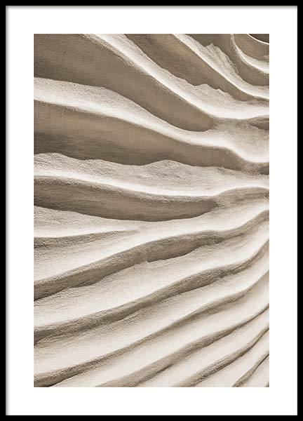 Sand Texture Poster in the group Prints / Sizes / 50x70cm | 20x28 at Desenio AB (11711)