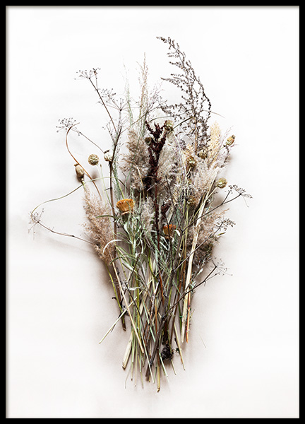 Dried Bouquet No1 Poster in the group Prints / Floral at Desenio AB (11796)