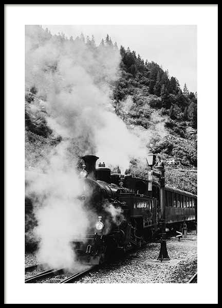 Locomotive Poster in the group Prints / Photographs at Desenio AB (11956)