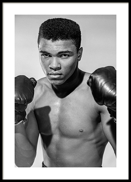 Muhammad Ali Poster in the group Prints / Iconic photos at Desenio AB (11963)