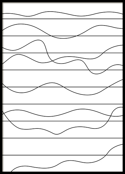 Ups and Downs Poster in the group Prints / Graphical at Desenio AB (11989)