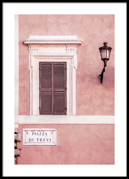 Piazza di Trevi Poster in the group Prints / Photographs at Desenio AB (12012)