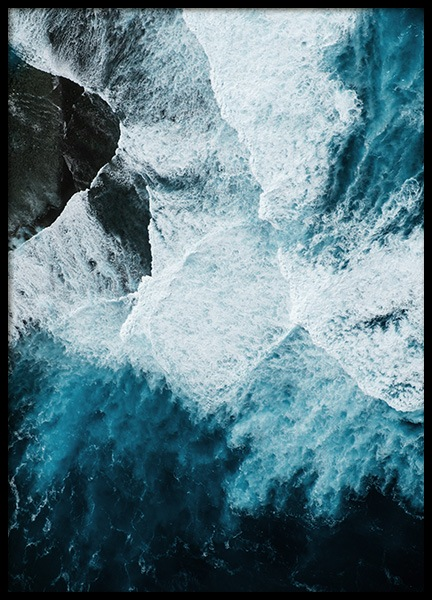 Ocean Rock Poster in the group Prints / Nature at Desenio AB (12068)
