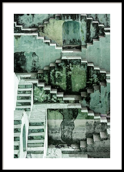 Stepwell Poster in the group Prints / Photographs at Desenio AB (12408)