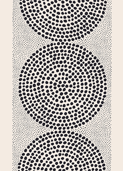 Dotted Pattern Poster in the group Prints / Illustrations at Desenio AB (12571)