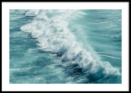 Turquoise Ocean Poster in the group Prints / Nature at Desenio AB (12641)