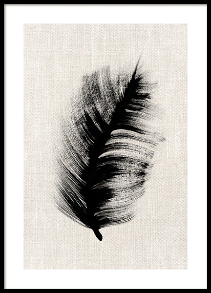 Ink Leaves No1 Poster in the group Prints / Art prints at Desenio AB (12808)
