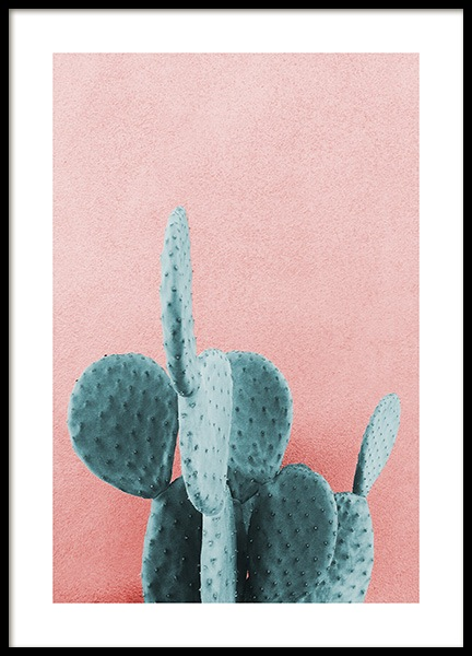Mint Cactus Poster in the group Prints / Photographs at Desenio AB (12852)