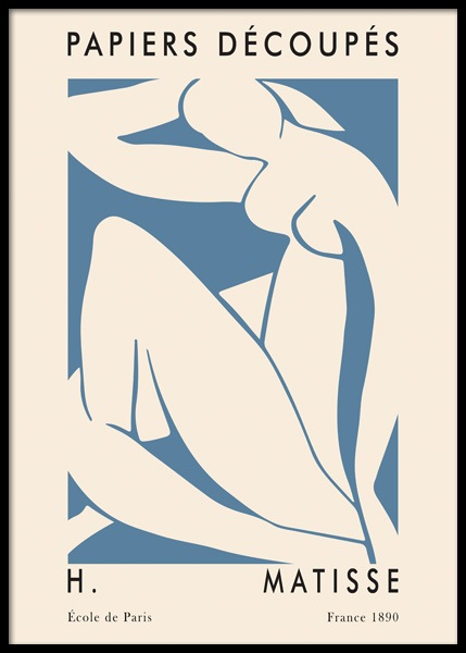 Matisse Inspired Cutout Woman Poster in the group Prints / Art prints / Matisse at Desenio AB (14751)