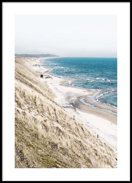Beach View Poster in the group Prints / Nature at Desenio AB (2457)