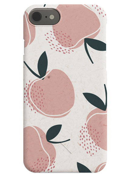 Life is Peachy iPhone Case in the group iPhone Cases / iPhone Xs at Desenio AB (C-50155)