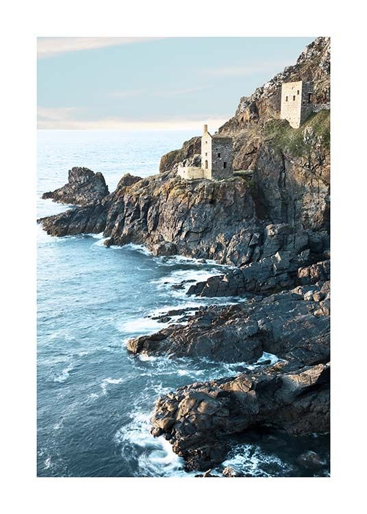 Botallack Tin Mine North Cornwall Poster / Nature at Desenio AB (10470)
