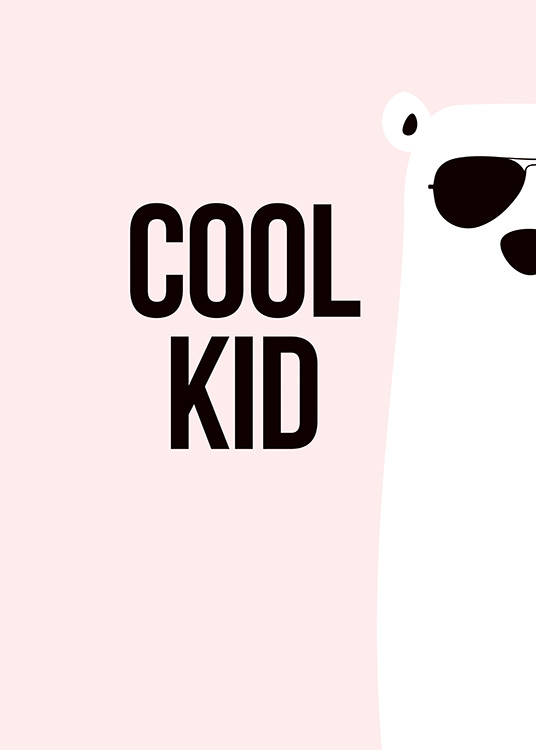 Cool Kid Poster / Kids posters at Desenio AB (11288)