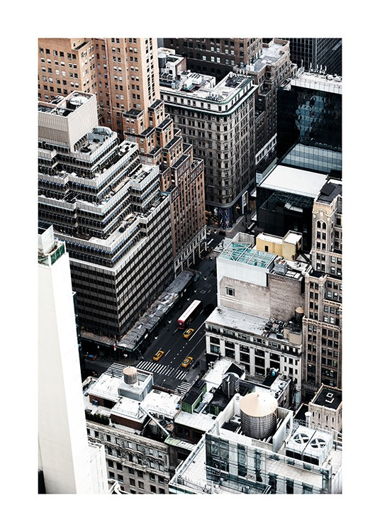 New York View Poster / Photographs at Desenio AB (11324)