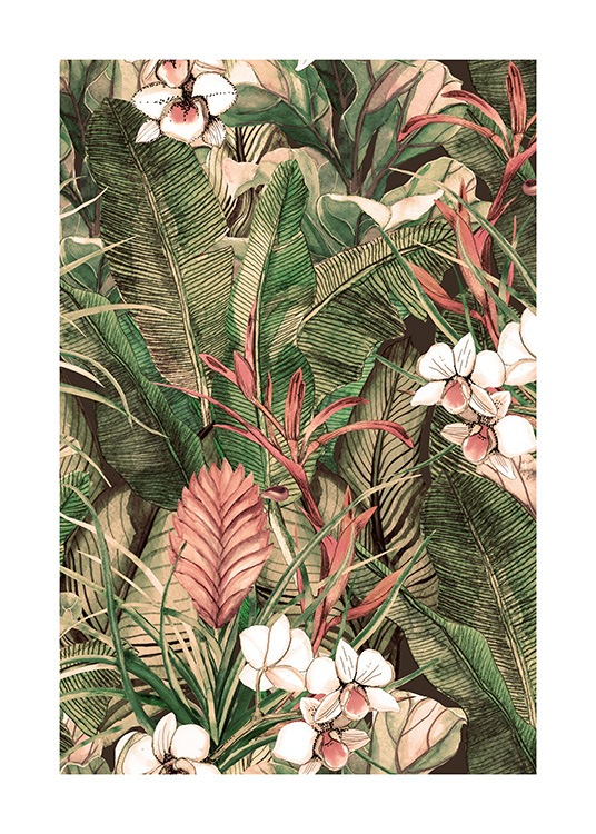 Botanical Pattern No1 Poster / Art prints at Desenio AB (12086)