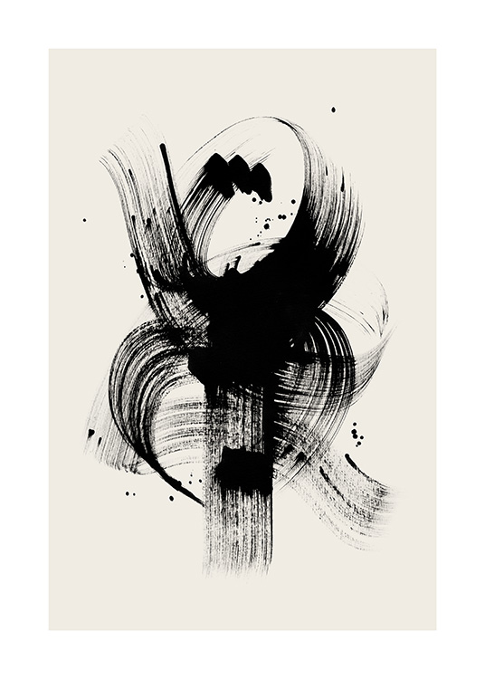 Ink Touch No2 Poster / Art prints at Desenio AB (12807)