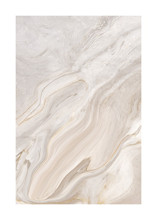 Abstract marble pattern in beige