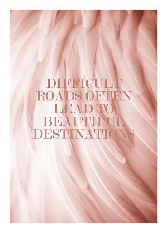 Beautiful Destinations Poster / Text posters at Desenio AB (2650)
