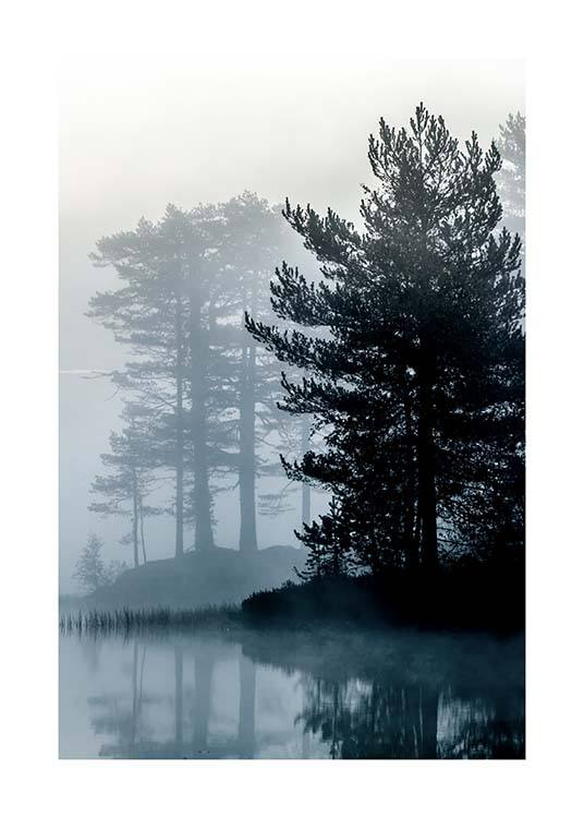 Forest By The Lake Poster / Nature at Desenio AB (2861)
