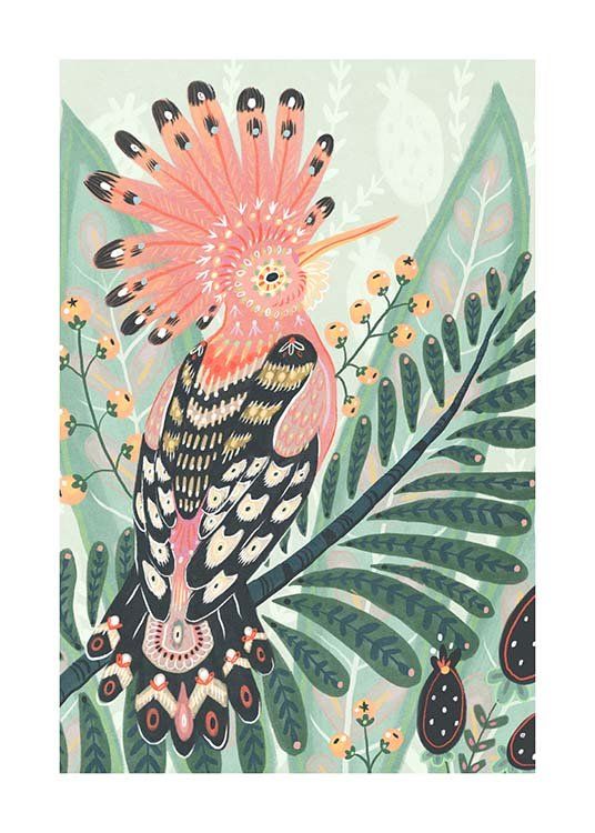 The Hoopoe Poster / Art prints at Desenio AB (3204)