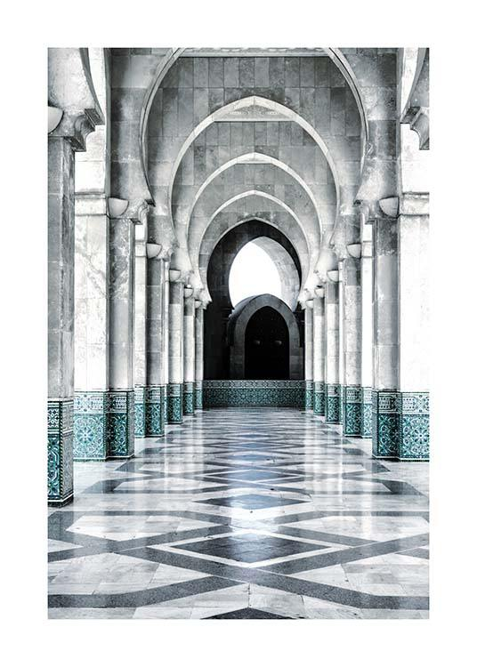 Morocco Arch Poster / Photographs at Desenio AB (3559)