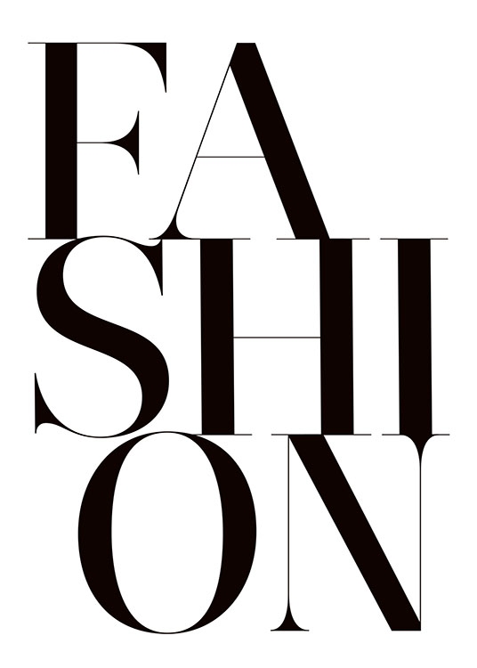 Fashion, Poster / Text posters at Desenio AB (8393)