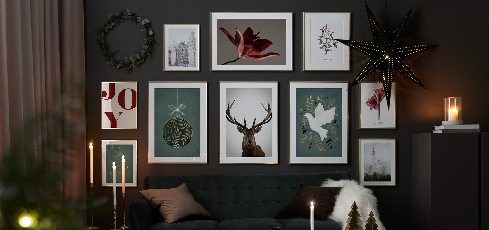 Christmas posters and prints